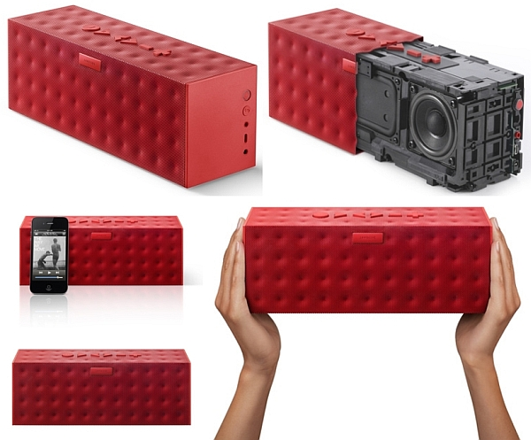 Big Jambox in Red Dot finish