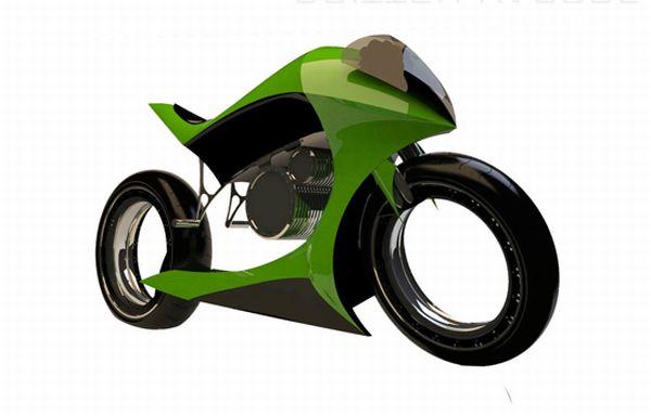 Britten electric motorbike concept