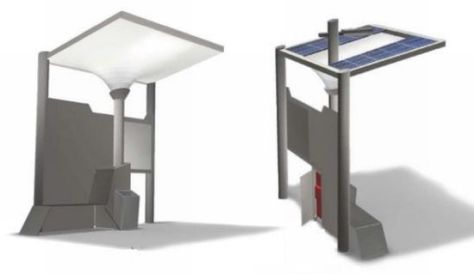 bus shelter canope