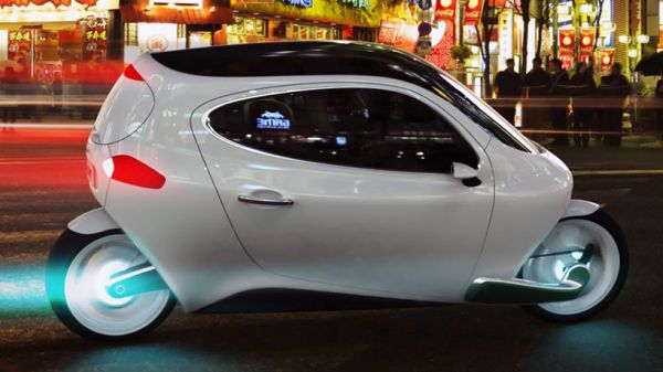 C-1 'rolling smartphone' electric vehicle