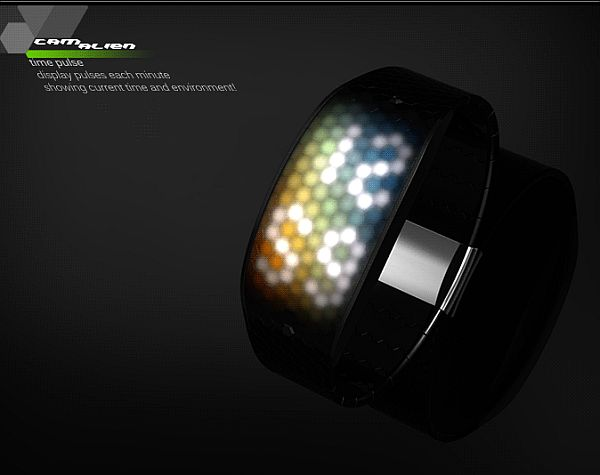 Camalien LED watch