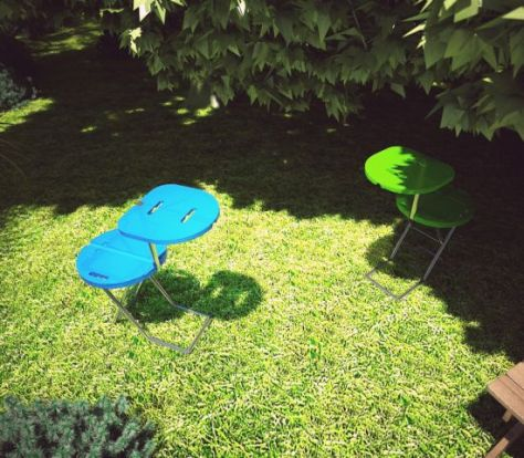 camping chair table concept 01