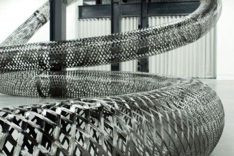 Carbon-Fiber Bench