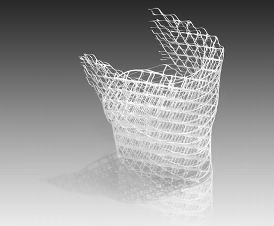 diamond chair by nendo