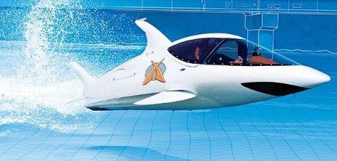 Dolphin-Like Speedboat