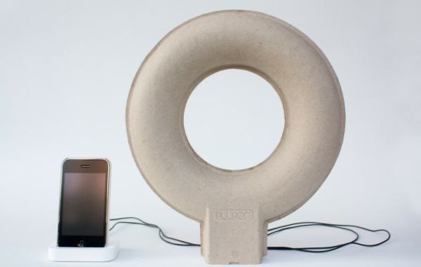Doughnut-shaped Pulpop MP3 speaker
