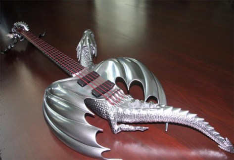 Draco electric guitar