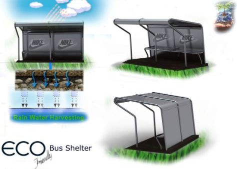 eco bus shelter
