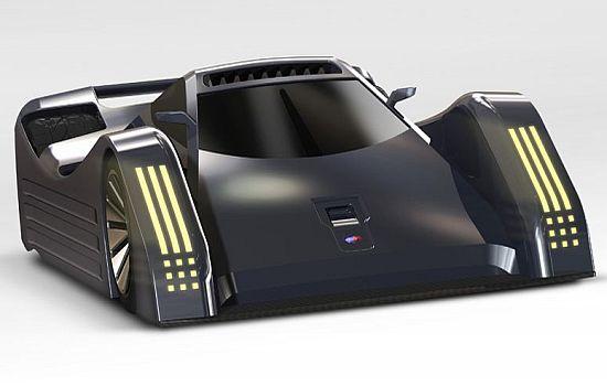 electric racing car design up96V 58