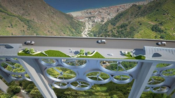 Energy generating bridges