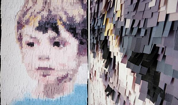 Enfant de Papier by Nathalie Boutté
