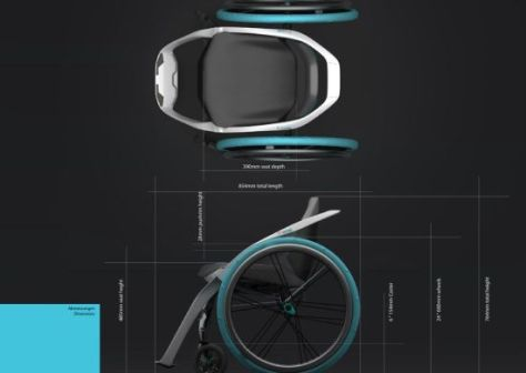 Free4 Concept Wheelchair Offers Greater Mobility To The