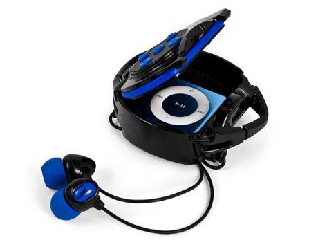 h2o audio int4 bk interval waterproof headphone sy