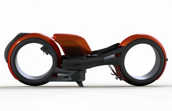 Harley-Davidson hubless concept
