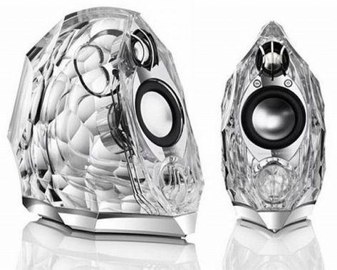 Harmon Kardon GLA-55 Glass Speakers