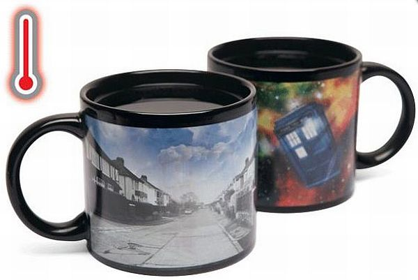Heat changing mugs