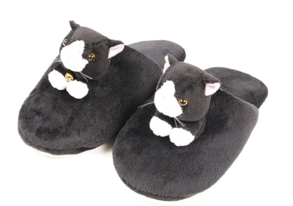Heated Kitty Slipperspers