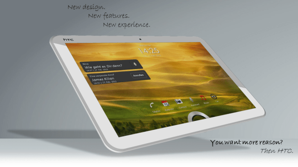 HTC One TE Tablet