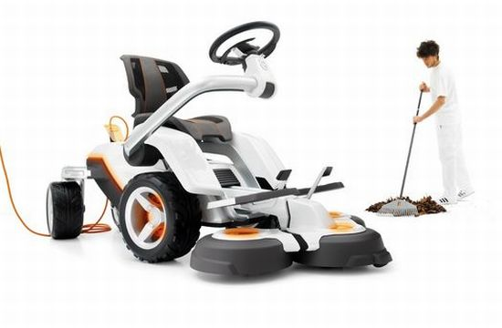 husqvarna electric lawnmower   3