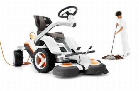 husqvarna electric lawnmower   3