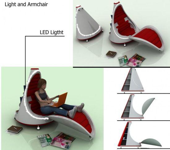 light and armchair 01