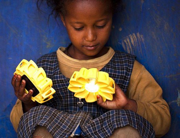 Little Sun: Solar powered light