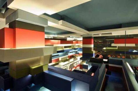 Mocha Mojo Coffee house Interior designed by Mancini Design