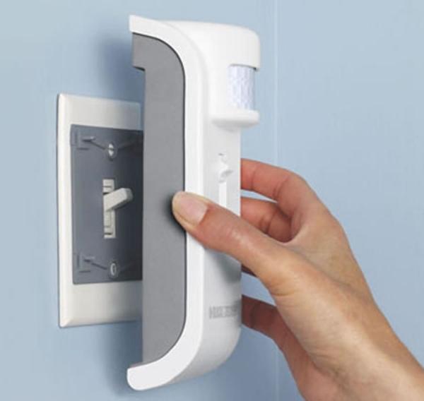 Motion sensing light switch