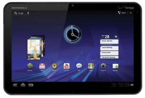 Motorola Xoom tab