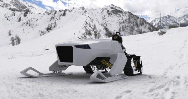 nanuq green alpine vehicle
