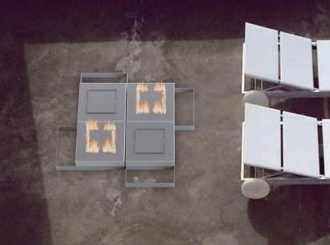pegasus modular outdoor fireplace 4