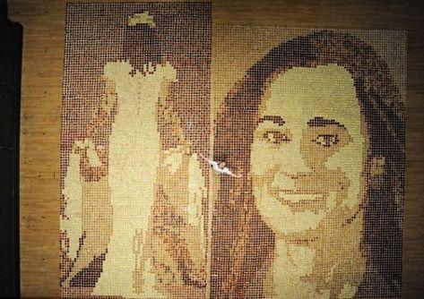 Pippa Middleton's mosaic