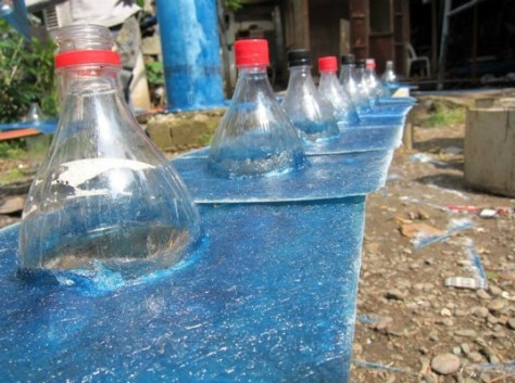 Solar Bottle Lamps