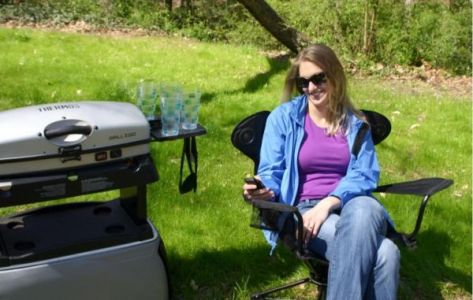 Revolve camping chair
