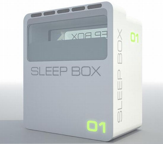 sleepbox by arch group 5