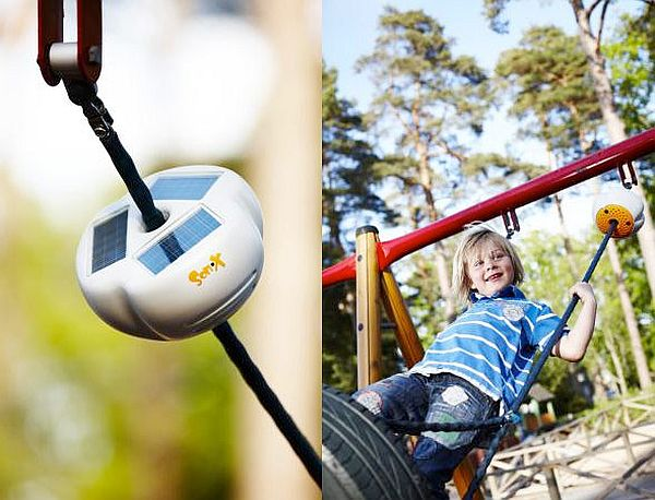 Solar-powered Son-X playgrounds