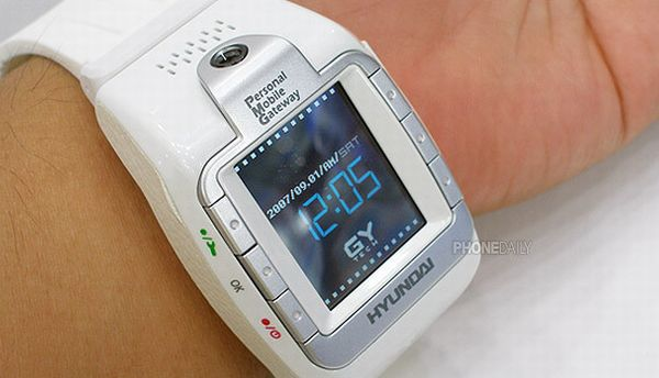 Star Trek inspired watch phone