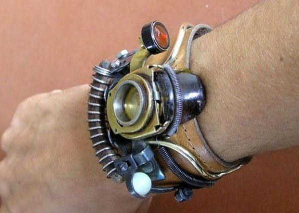 Steampunk Wrist Watch