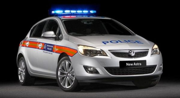 Stylish police vehicles