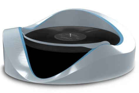 Tactile Turntable