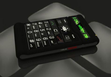 the old futuristic phone 03
