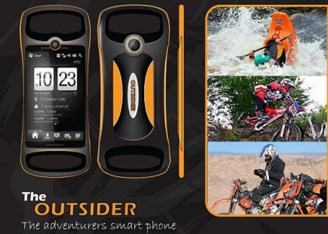 the outsider smart phone