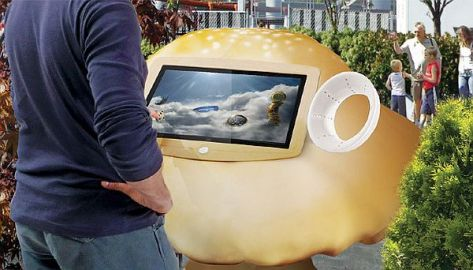 Themepark NFC technology