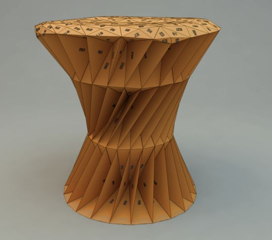 triangles stool 06