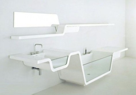 Ultra Modern Ebb Bathroom
