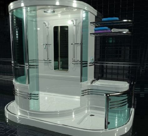 User-Friendly Bathroom Concept by Simon R. Pestridge