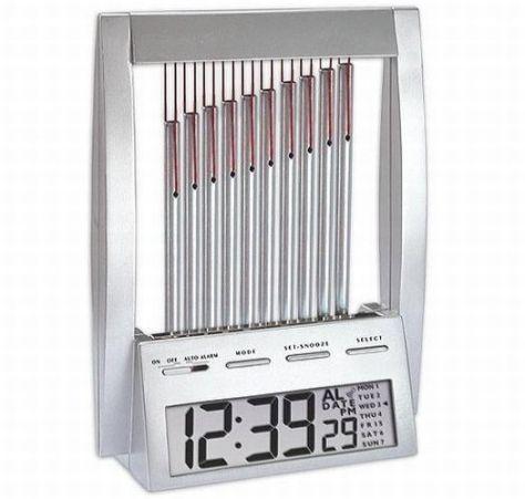 wind chime alarm clock