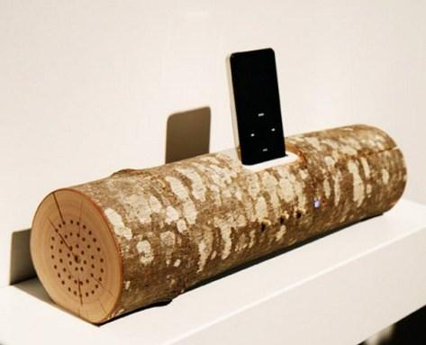 Wooden iPod Dock