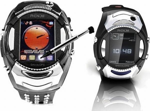 Wrist mobile phone Phenom Watch