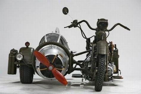 ww2 fighter plane sidecar qf6vp 5965